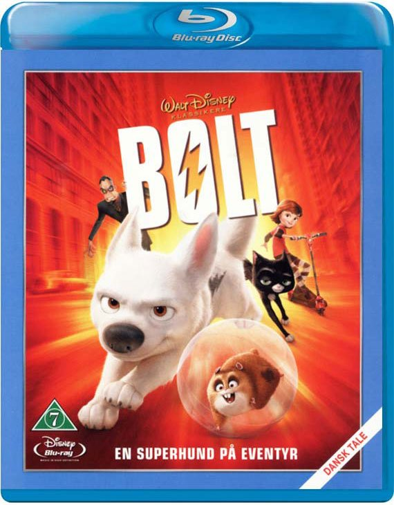 Image of   Bolt - Disney - Blu-Ray