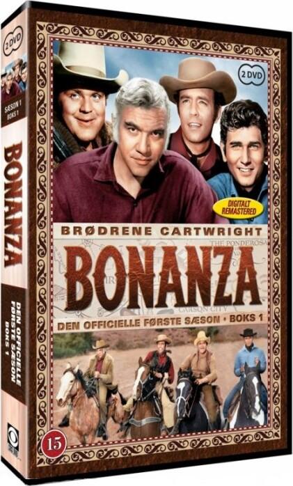 Bonanza - Sæson 1 Boks 1 - DVD - Tv-serie