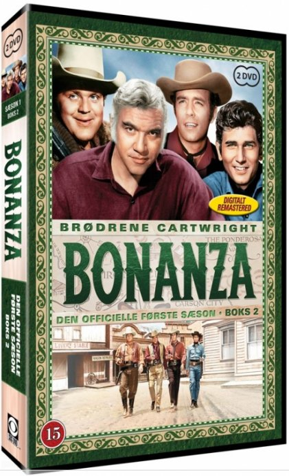 Bonanza - Sæson 1 Boks 2 - DVD - Tv-serie