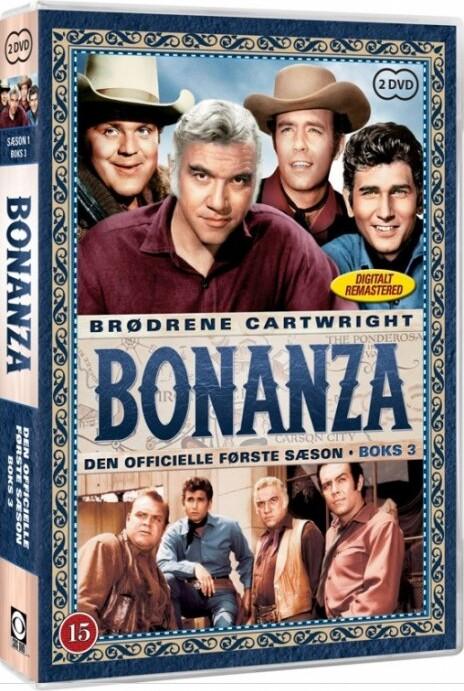 Bonanza - Sæson 1 Boks 3 - DVD - Tv-serie