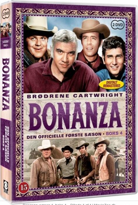 Bonanza - Sæson 1 Boks 4 - DVD - Tv-serie