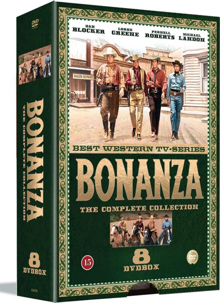 Bonanza - Sæson 1 - DVD - Tv-serie