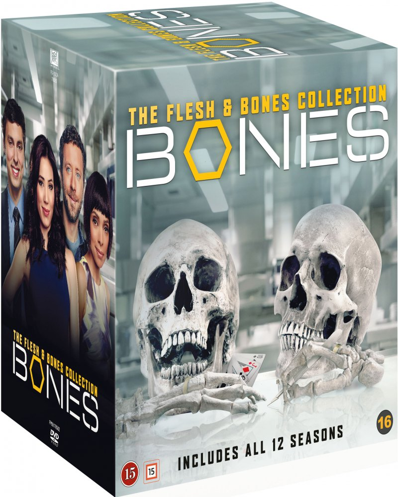 Bones - Sæson 1-12 Box Set - DVD - Tv-serie