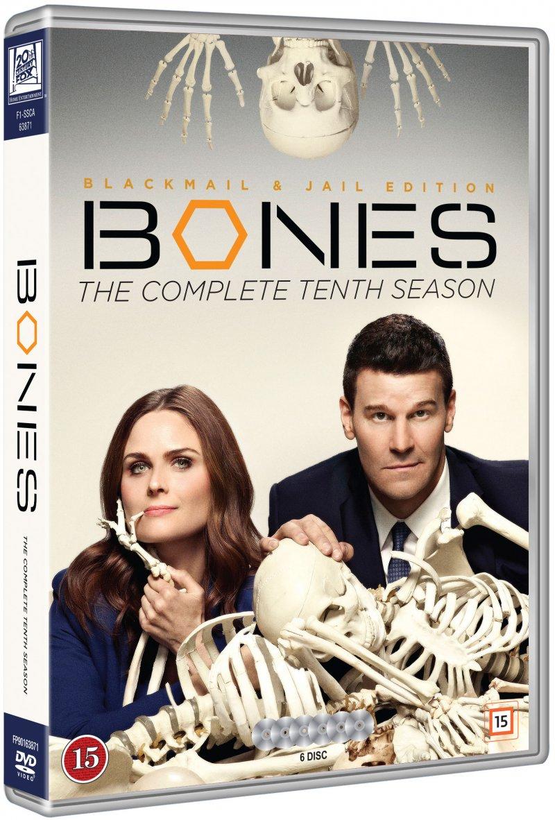 Image of   Bones - Sæson 10 - DVD - Tv-serie