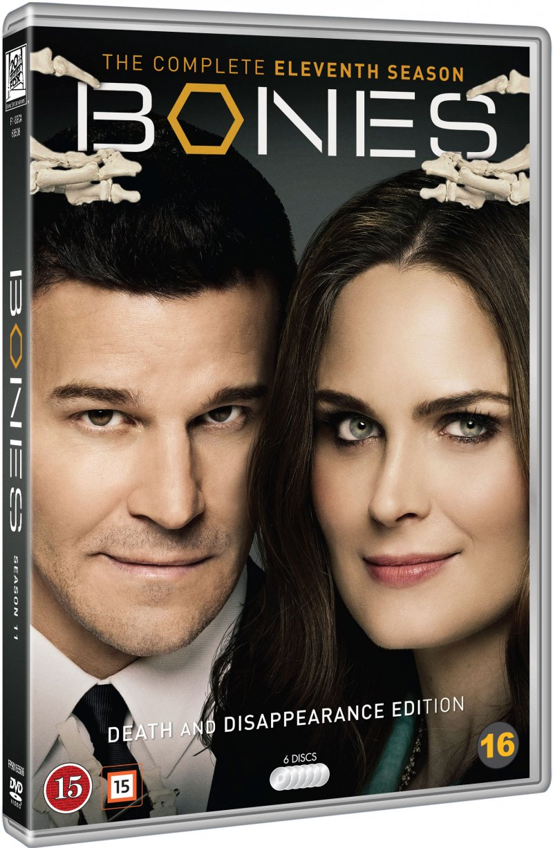 Image of   Bones - Sæson 11 - DVD - Tv-serie