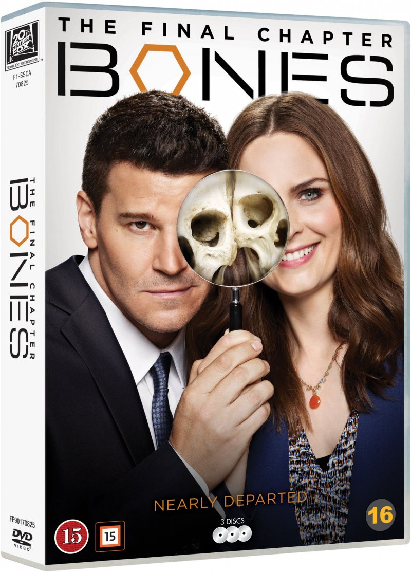 Image of   Bones - Sæson 12 - DVD - Tv-serie