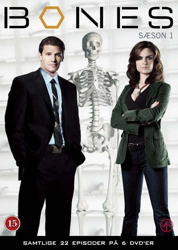 Image of   Bones - Sæson 1 - DVD - Tv-serie