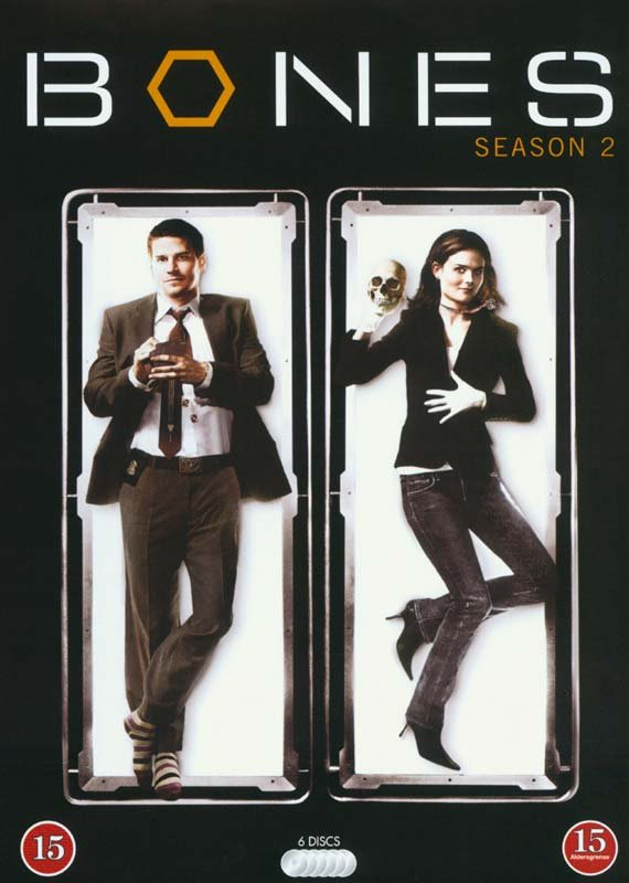 Image of   Bones - Sæson 2 - DVD - Tv-serie