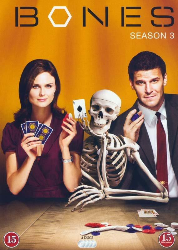 Image of   Bones - Sæson 3 - Dvd - DVD - Tv-serie