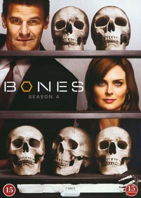 Image of   Bones - Sæson 4 - DVD - Tv-serie