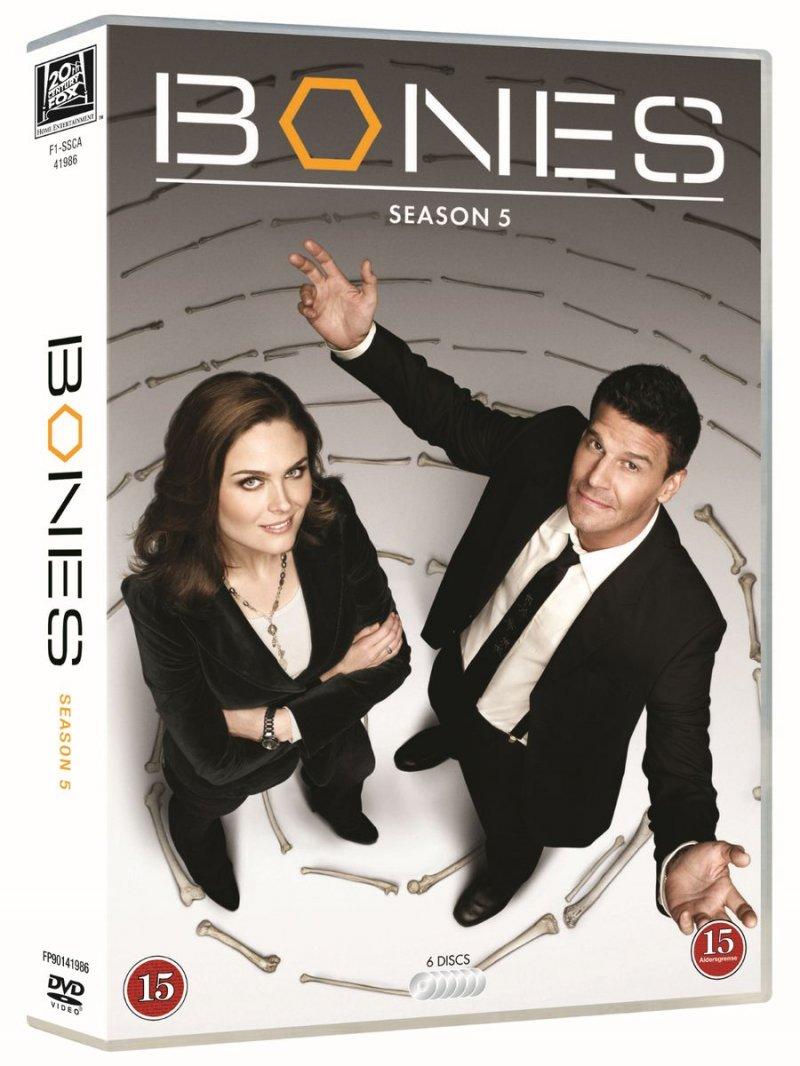 Image of   Bones - Sæson 5 - DVD - Tv-serie