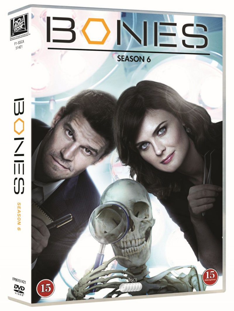 Image of   Bones - Sæson 6 - DVD - Tv-serie