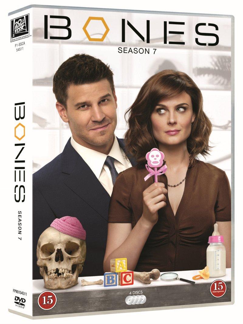 Image of   Bones - Sæson 7 - DVD - Tv-serie