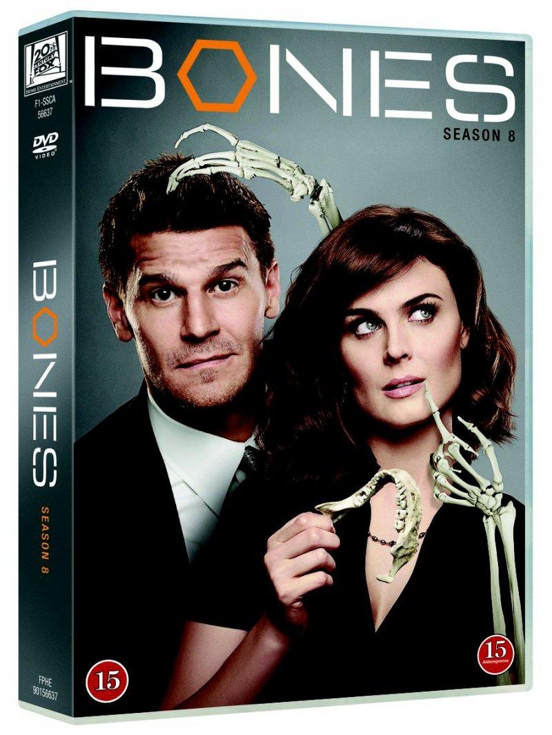 Image of   Bones - Sæson 8 - DVD - Tv-serie