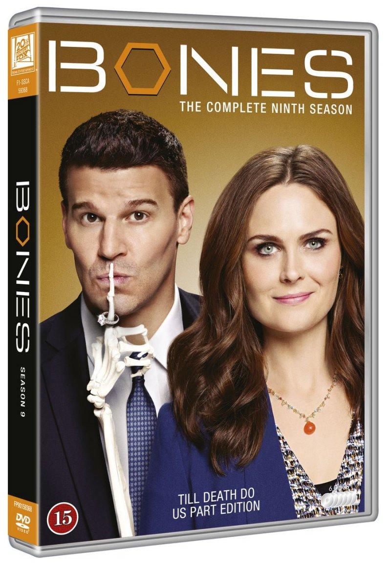 Image of   Bones - Sæson 9 - DVD - Tv-serie