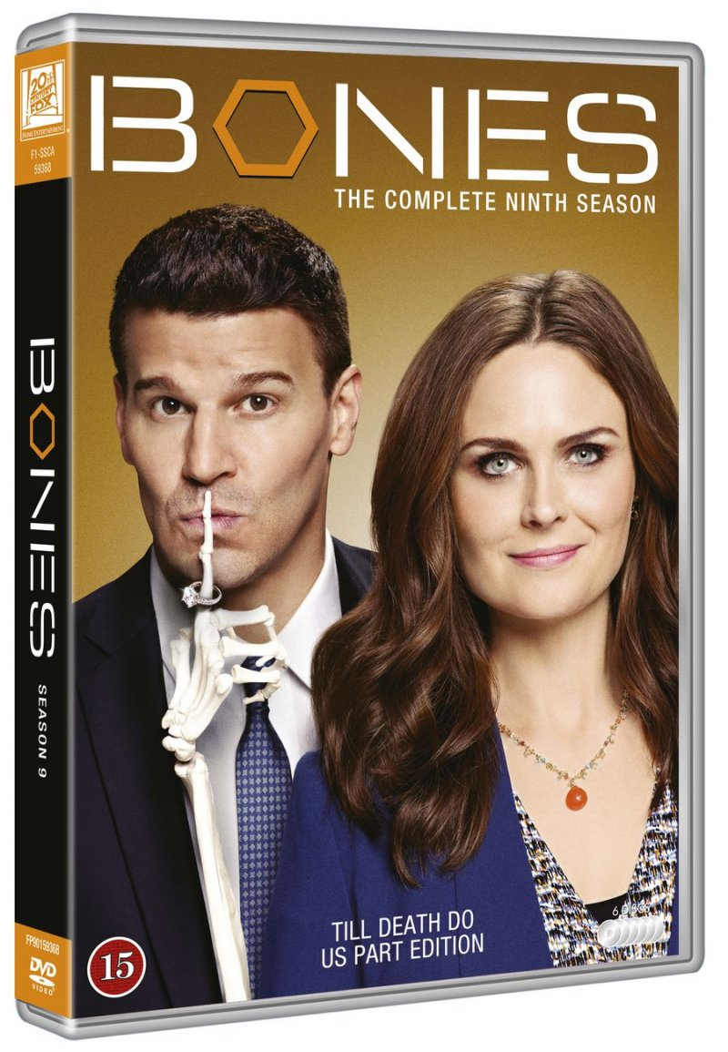 Image of   Bones - Sæson 9 - DVD - Tv-serie