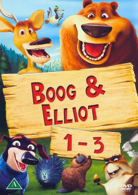 Billede af Boog & Elliot / Open Season 1-3 Box - DVD - Film