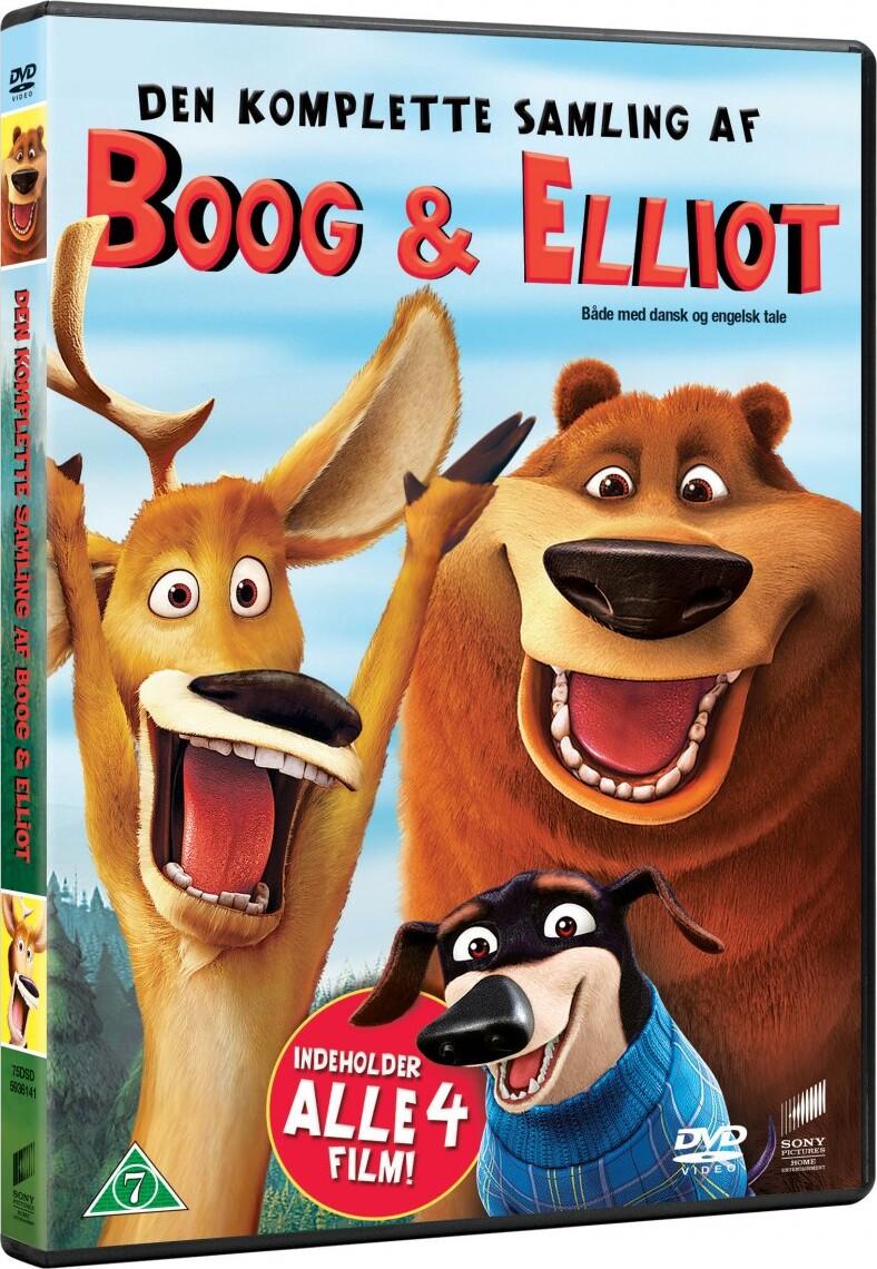 Billede af Boog & Elliot - Den Komplette Samling - DVD - Film