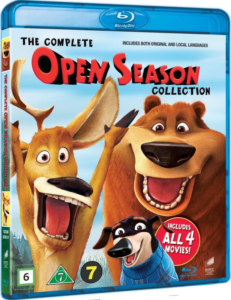Image of   Boog & Elliot / Open Season 1-4 Box - Blu-Ray