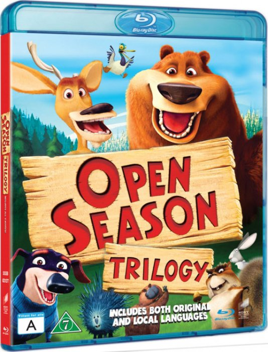 Image of   Boog & Elliot / Open Season 1-3 Box - Blu-Ray