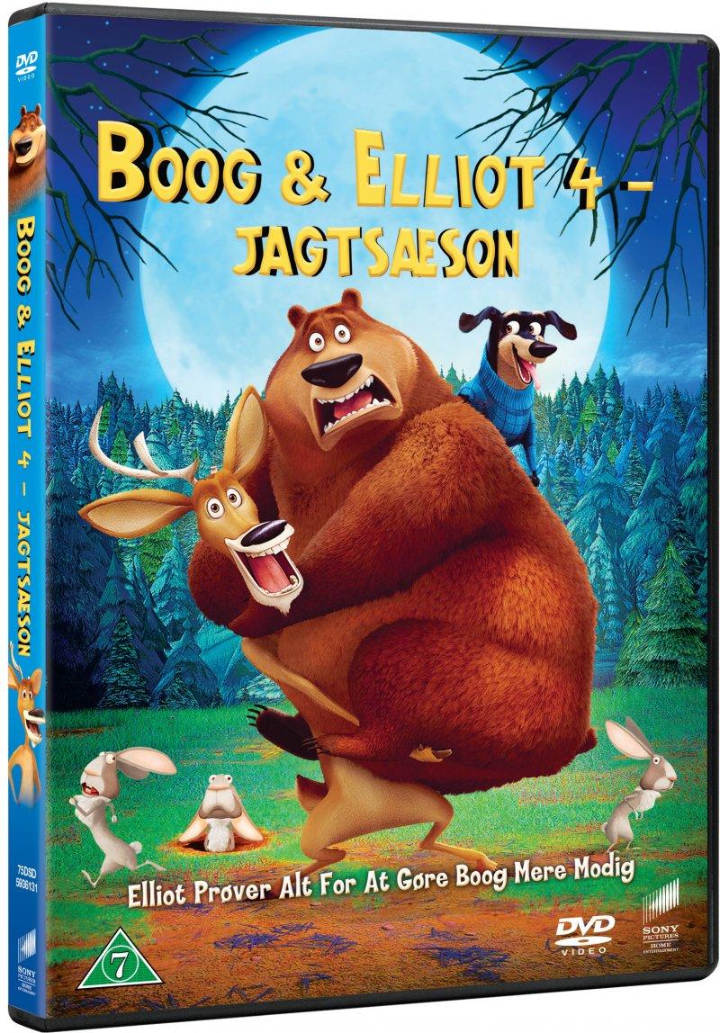 Image of   Boog Og Elliot 4: Jagtsæson - DVD - Film