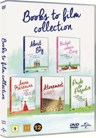 Image of   Books To Film - Boks - DVD - Film
