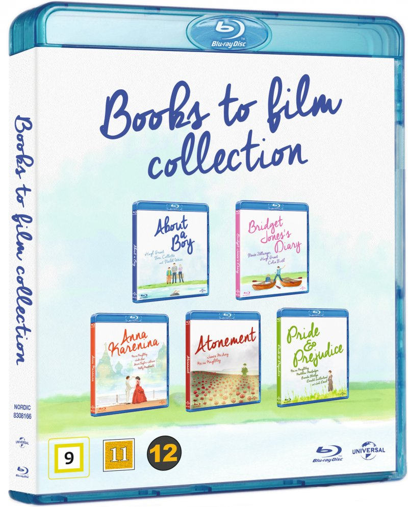 Image of   Books To Film Boks - Blu-Ray