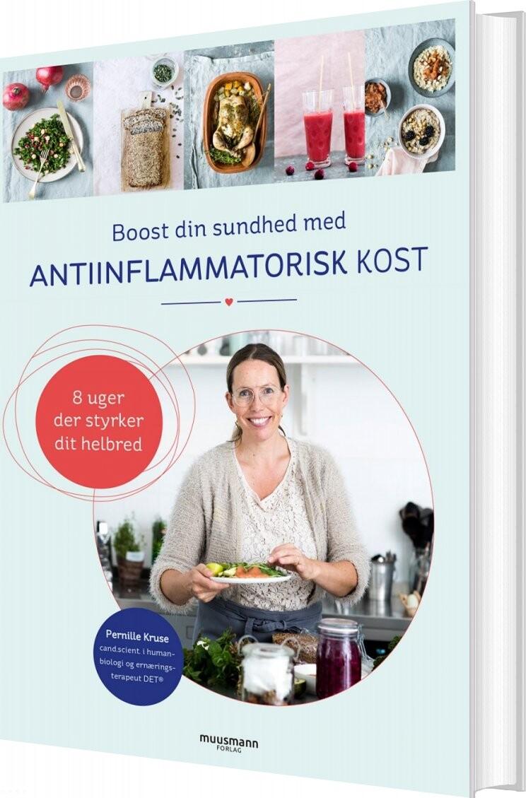 Image of   Boost Din Sundhed Med Antiinflammatorisk Kost - Pernille Kruse - Bog