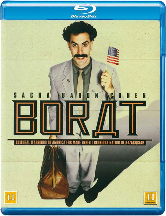 Image of   Borat - Blu-Ray