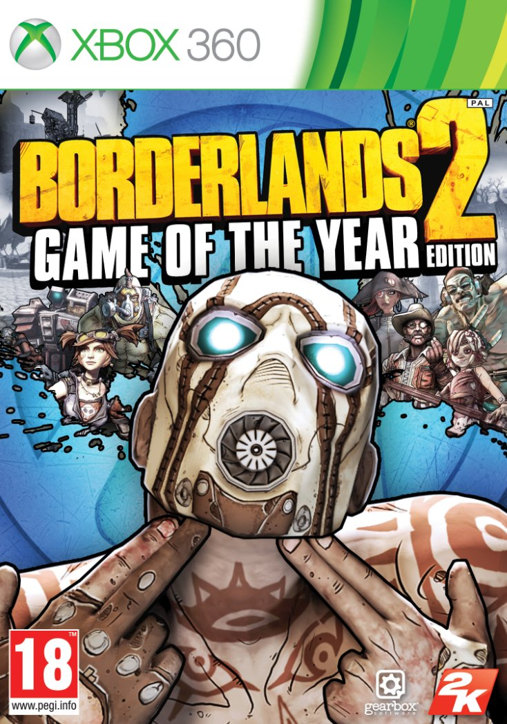 Image of   Borderlands 2 - Game Of The Year Edition - Xbox 360