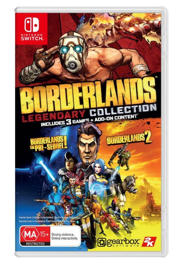 Image of   Borderlands Legendary Collection - Nintendo Switch