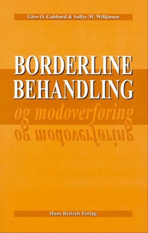 Image of   Borderline-behandling Og Modoverføring - Bog