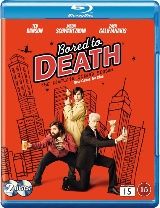 Image of   Bored To Death - Sæson 2 - Blu-Ray - Tv-serie