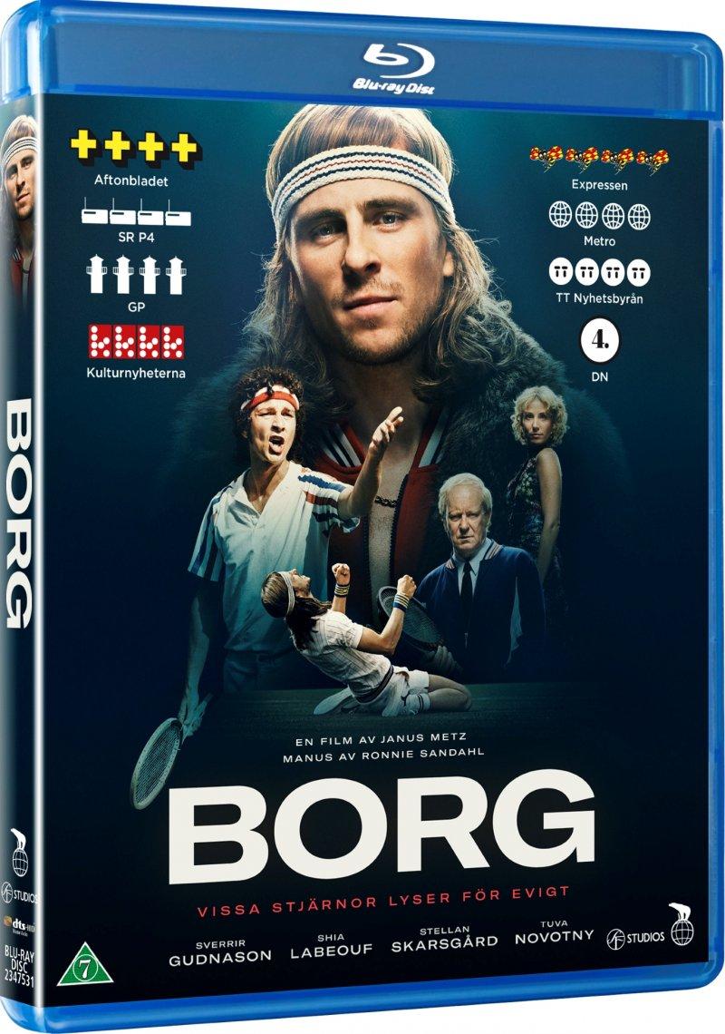 Image of   Borg Mcenroe - Blu-Ray