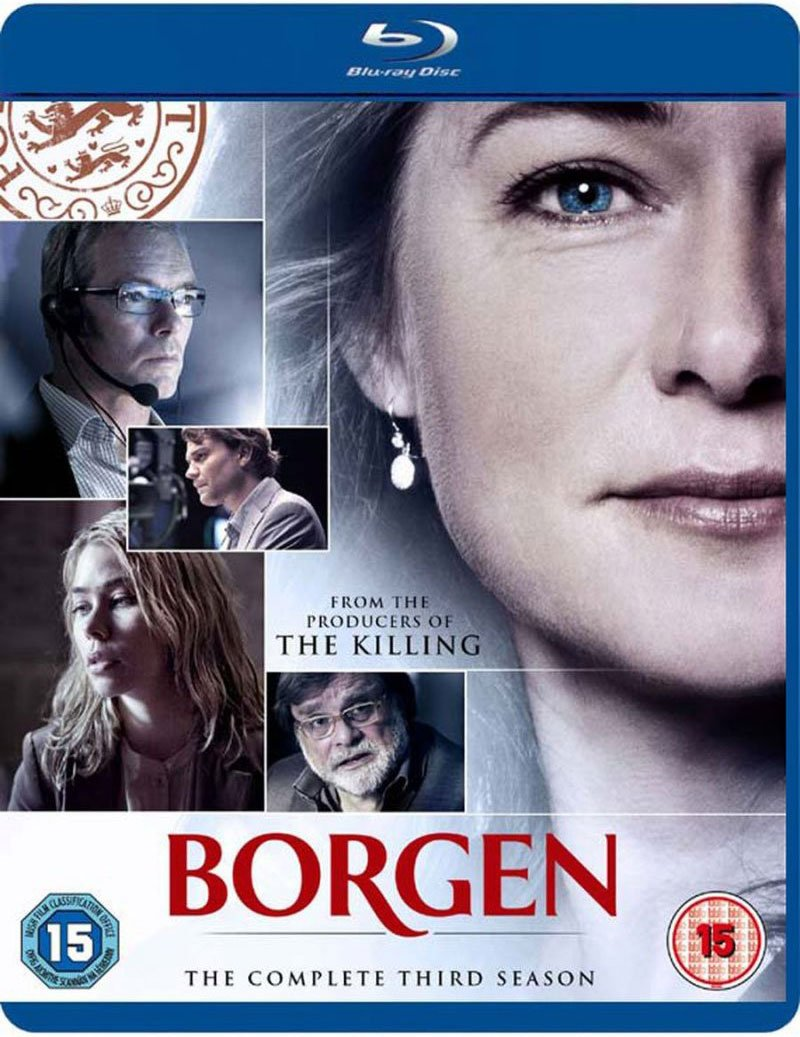 Borgen - Sæson 3 - Blu-Ray - Tv-serie