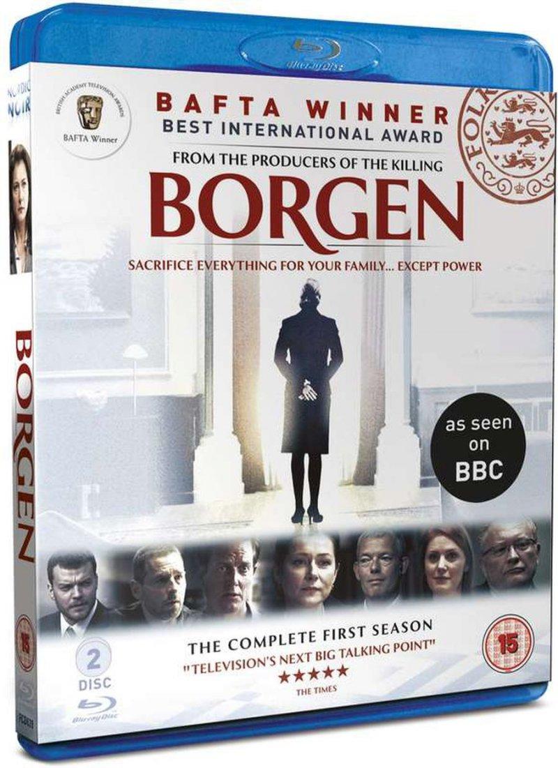 Image of   Borgen - Sæson 1 - Blu-Ray - Tv-serie