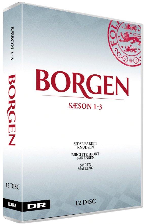 Image of   Borgen Sæson 1-3 - DVD - Tv-serie