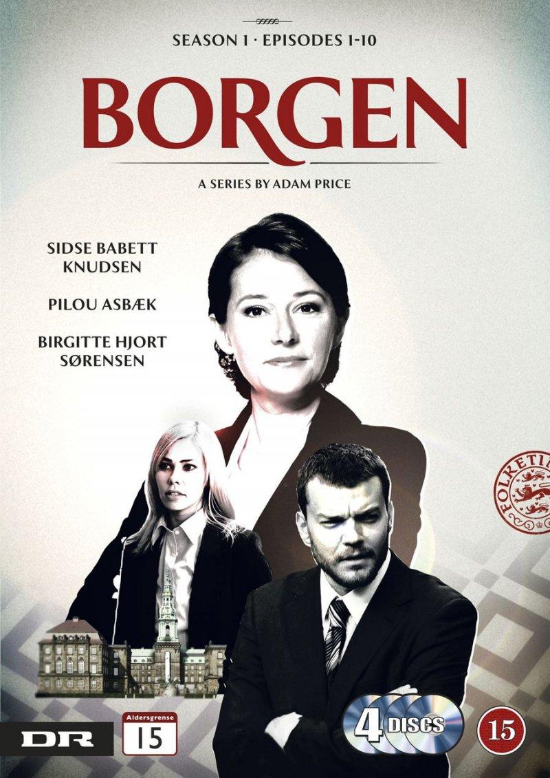 Image of   Borgen - Sæson 1 - DVD - Tv-serie