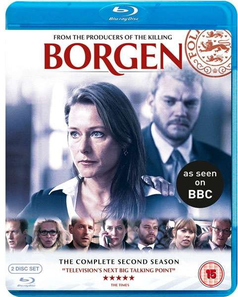 Borgen - Sæson 2 - Blu-Ray - Tv-serie