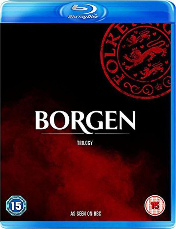 Borgen - Sæson 1-3 - Blu-Ray - Tv-serie