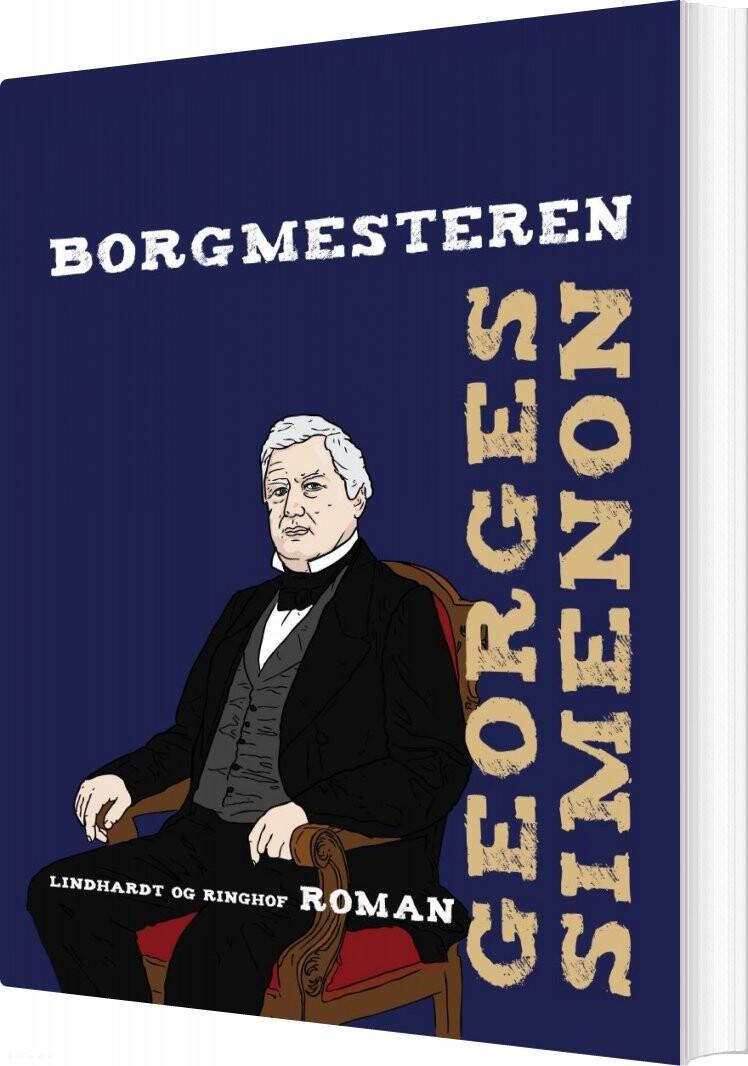 Image of   Borgmesteren - Georges Simenon - Bog