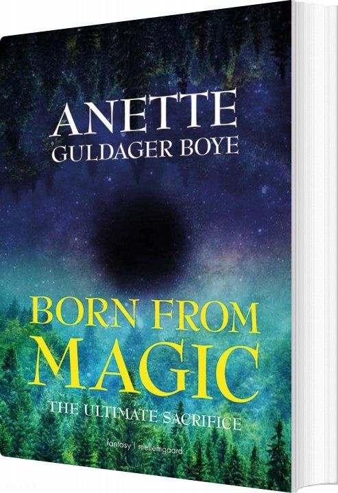 Image of   Born From Magic - Anette Guldager Boye - Bog