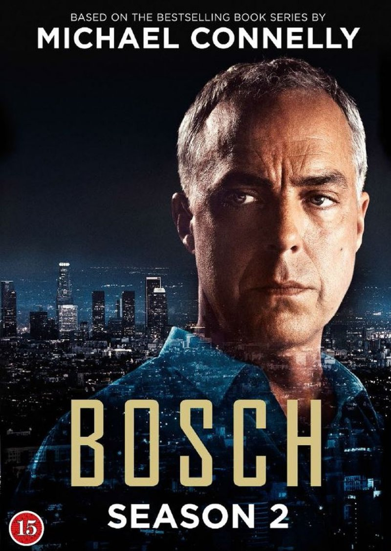 Image of   Bosch - Sæson 2 - DVD - Tv-serie