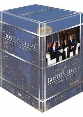 Image of   Boston Legal - Sæson 1-5 - DVD - Tv-serie
