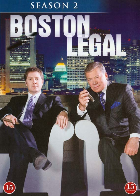 Image of   Boston Legal - Sæson 2 - DVD - Tv-serie