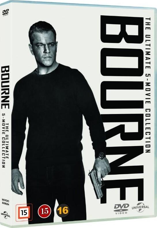 Image of   Bourne 1-5 Box Set - DVD - Film