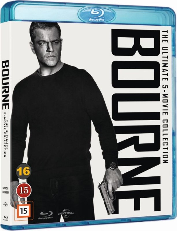 Image of   Bourne 1-5 Box Set - Blu-Ray