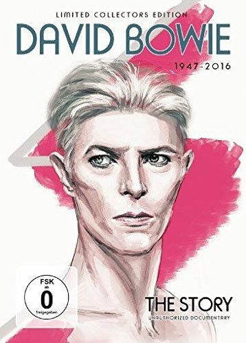 Image of   David Bowie - The Story - Limited Collectors Edition - DVD - Film