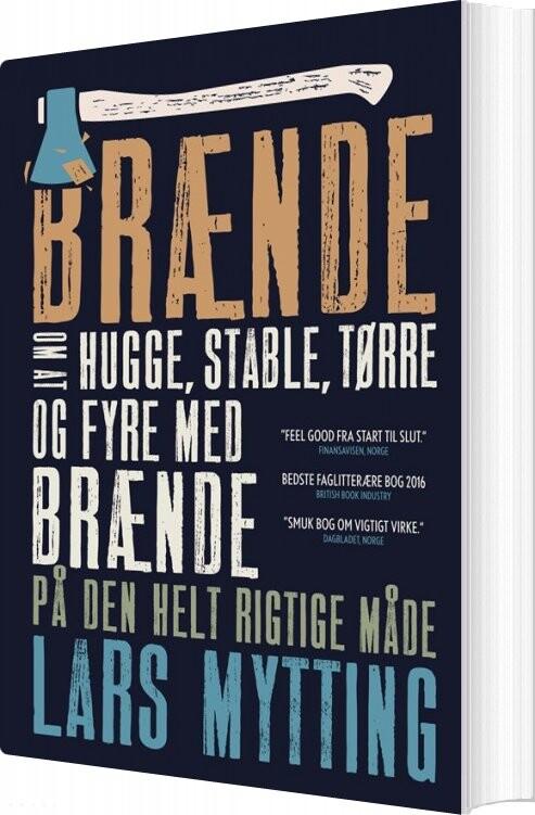 Image of   Brænde - Lars Mytting - Bog