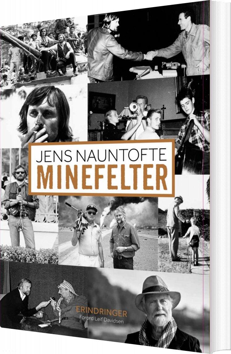Image of   Minefelter - Jens Nauntofte - Bog